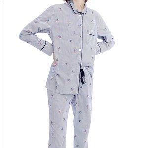 J. Crew Ski Pajama Set